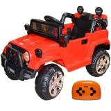 Jeep cu acumulator RC si 2 motoare 12V