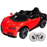 Masina sport rosie cu acumulator RC si 2 motoare 12V