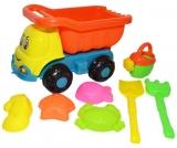 Jucarie Camion 28 cm si forme pentru nisip