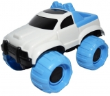 Jucarie Jeep din plastic, 19 cm
