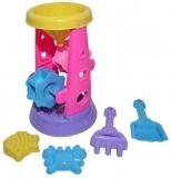Set de joaca Moara pentru nisip 25 cm cu accesorii