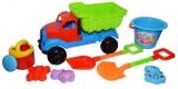 Camion cu accesorii pentru nisip, 39 cm