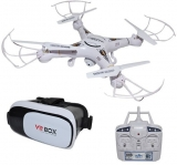 Drona RC 38 cm cu camera, Wi-Fi si ochelari VR