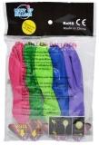 Baloane multicolore cu lumina, 5 culori/set