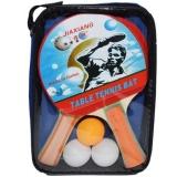 Set palete ping pong x 2 + 3 mingi, 1 set/husa