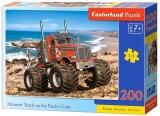 Puzzle 200 piese, diverse modele, premium, Castorland