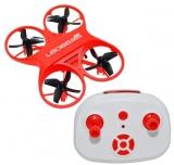 Mini drona cu telecomanda RC, culoare rosie, L6065