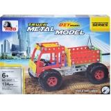 Joc constructii metal camion  134 piese
