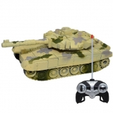 Masinuta tip tanc, 21 cm, cu RC, AC