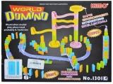 Joc Domino din plastic, 110 piese