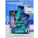 Microscop cu baterii