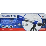 Telescop pentru copii, 42 cm, zoom 20x 30x 40x