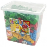 Cuburi constructii 500 piese in cutie Tupiko