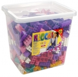 Cuburi constructii 500 piese in cutie, pentru fete, Tupiko