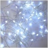 Instalatie pentru pomul de Craciun, 200 becuri LED, culoare alba