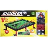 Masa Snooker/Biliard pentru copii in cutie, lungime 50 cm