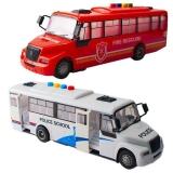 Jucarie autobuz cu baterii