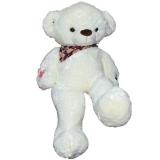 Ursulet de plus cu esarfa, 100 cm