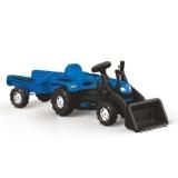 Tractor excavator cu pedale si remorca Ranchero Dolu