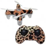 Mini drona cu telecomanda RC, design ghepard