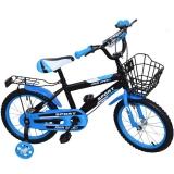 Bicicleta copii, cadru metalic, roti 16 inch, cos metalic, diverse culori, John Speed