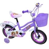 Bicicleta copii, fete, cadru metalic, roti 12 inch, cos plastic, diverse culori, Free Star