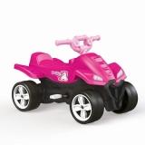 ATV cu pedale, roz Unicorn, 2565 Dolu