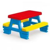 Masa cu bancute pentru 4 copii, 3008 Dolu