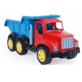 Camion rosu/albastru, 82 cm Dolu
