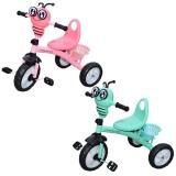 Tricicleta cu pedale, muzica si lumina, diverse modele Fluturas