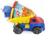 Camion cu accesorii pentru nisip, 32 cm