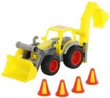 Excavator cu incarcator 377 ConsTruck Wader Polesie