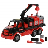 Camion salubrizare 47 cm + pubele 68507 Mammoet Polesie