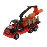Jucarie Camion cu lemne, 68521 Mammoet Poleise