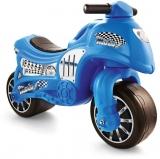 Motocicleta fara pedale, albastru, 8029 Dolu