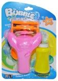 Jucarie pentru baloane de sapun cu elice si baterii