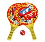 Set de joaca Palete Beach Ball cu minge, 37.5 cm