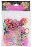 Elastice colorate, 200 buc/punga