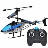 Elicopter cu telecomanda RC, 29 cm, albastru