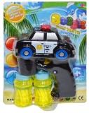 Jucarie Pistol pentru baloanele de sapun, forma de masina politie