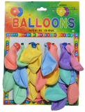 Baloane multicolore, 2.5 g, 12 buc/set