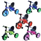 Tricicleta cu pedale, roti mari