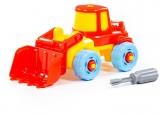 Jucarie Tractor-excavator demontabil 77103 Polesie