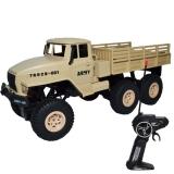 Camion militar cu telecomanda crem