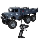 Camion militar cu telecomanda albastru inchis