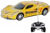 Masina cu telecomanda RC, AC, transparenta cu lumina, Racing Sport