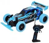 Masina de curse cu telecomanda RC, AC, culoare albastru, Motion Climbing Cross Country