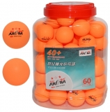 Minge ping-pong, Aurora, 60 buc/set