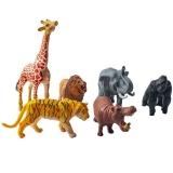 Figurine animale din jungla, 6 buc/cutie
