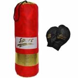 Set sac box si manusi pentru copii, 56 cm, textil